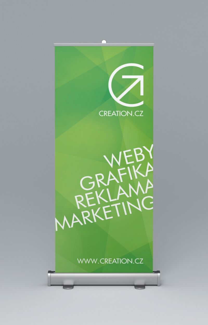 Roll up banner firmy