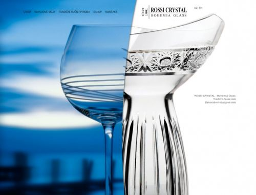 Rossi Crystal Bohemia Glass