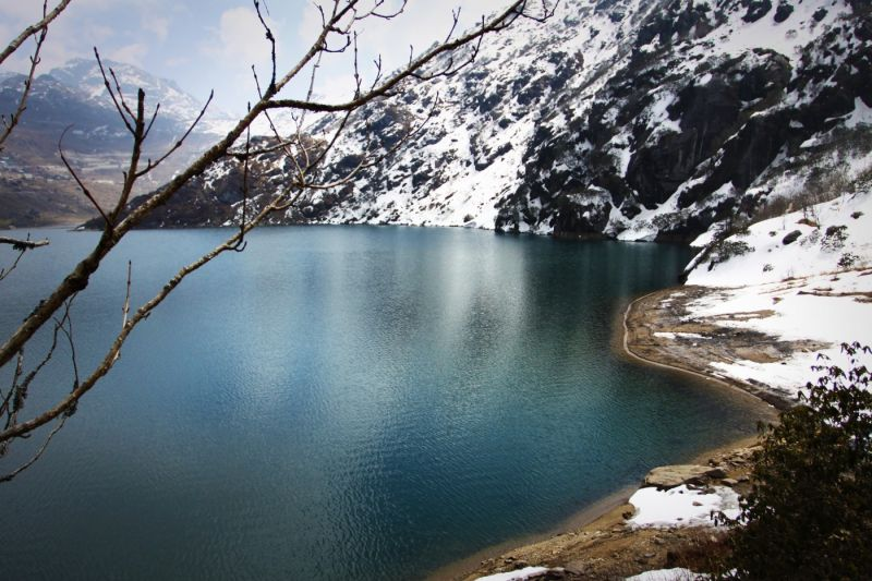 Sikkim - Tsomgo holly lake, 2015